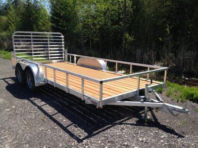 7X16 Aluminum Landscape Trailer