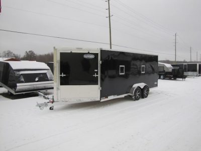 7′ X 27′ (Extreme) All Aluminum Snowmobile Trailer