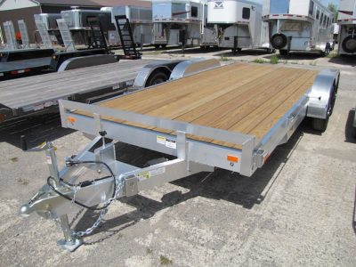20′ All Aluminum 5 Ton Car Hauler