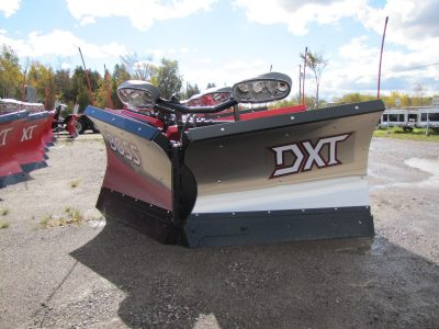8ft 2in DXT Stainless V-Blade Plow