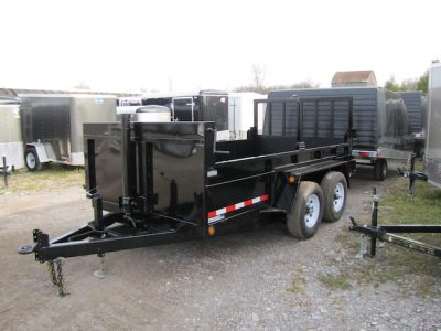 5 Ton 12ft Dump Trailer